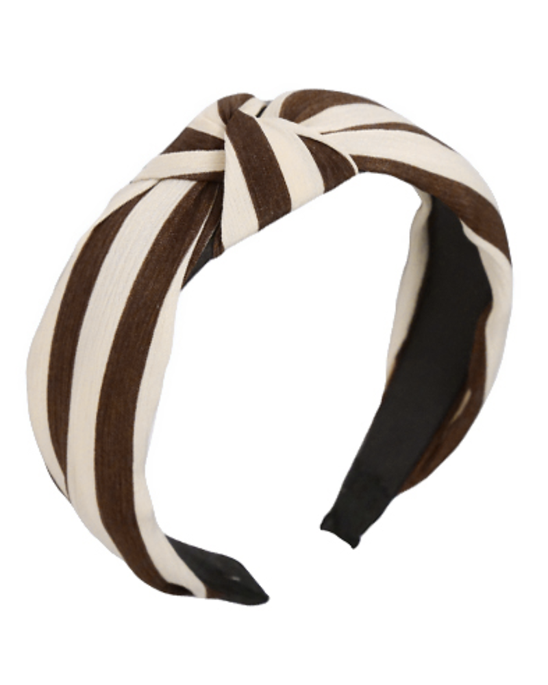 Stripe Knotted- Brown