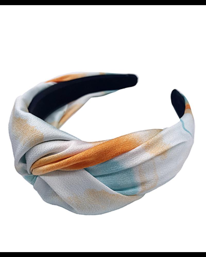 Tie Dye Headband- Orange