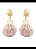 Natural Shell Dangle Earrings