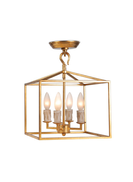 Cape Lantern XS- Antique Gold Leaf