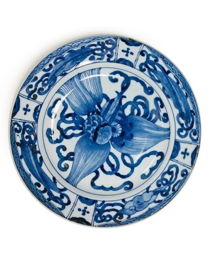 "Plate 9.25"" Takara Zukushi"