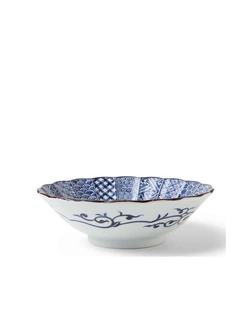 "Bowl 10"" Blue Nishiki"
