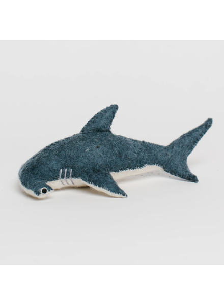 Hammerhead Shark Felt Ornament