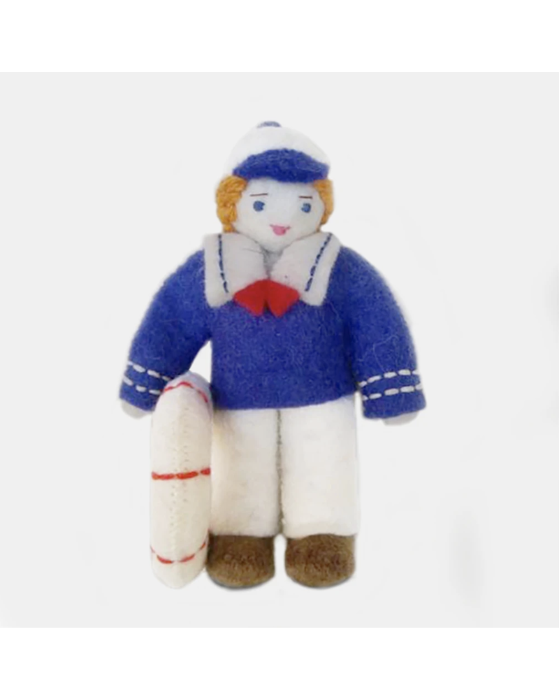 Down to the Bay: Sailor Boy Ornament