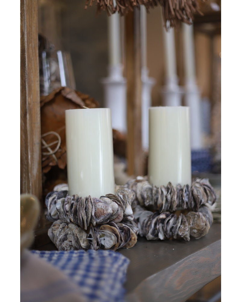 Oyster Candle or Napkin Ring