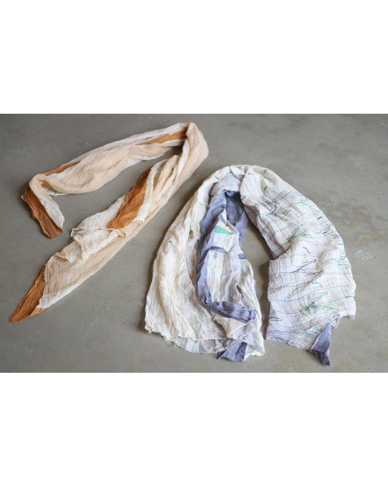 Sari Fragment- Clay