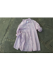 Leaf Print Blouse Pink Size 2 (m/l)