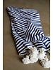 #2010 Simple Cotton, Small, Stripe Blue & White