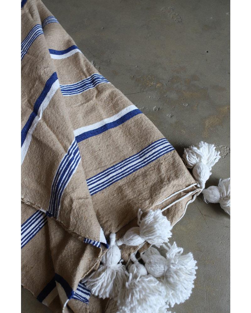 #2014 Simple Cotton, Small, Multi Stripe Camel