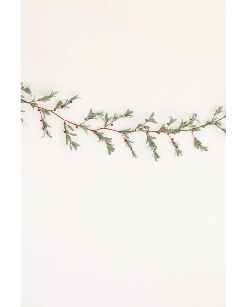 """Under the Mistletoe Garland 72"""""""