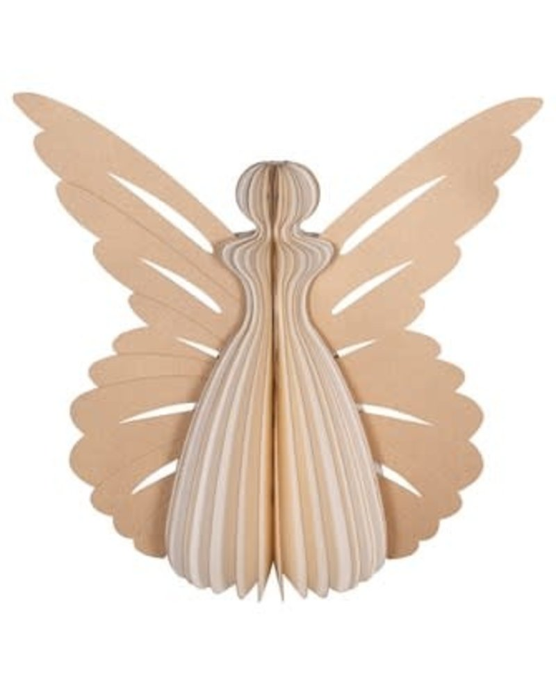 "9"" paper angel ornament"