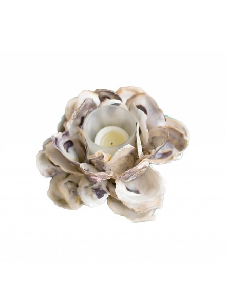 Oyster Cluster Votive Holder