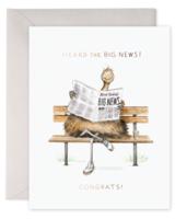 Big News Greeting Card