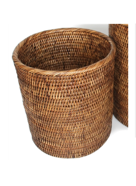 "Round Waste Basket #2 11"" x 10""H"