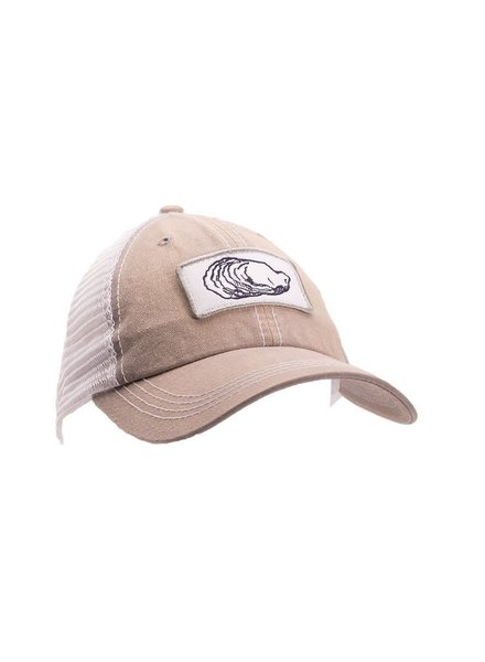 Oyster Unstructured Trucker- Light Grey