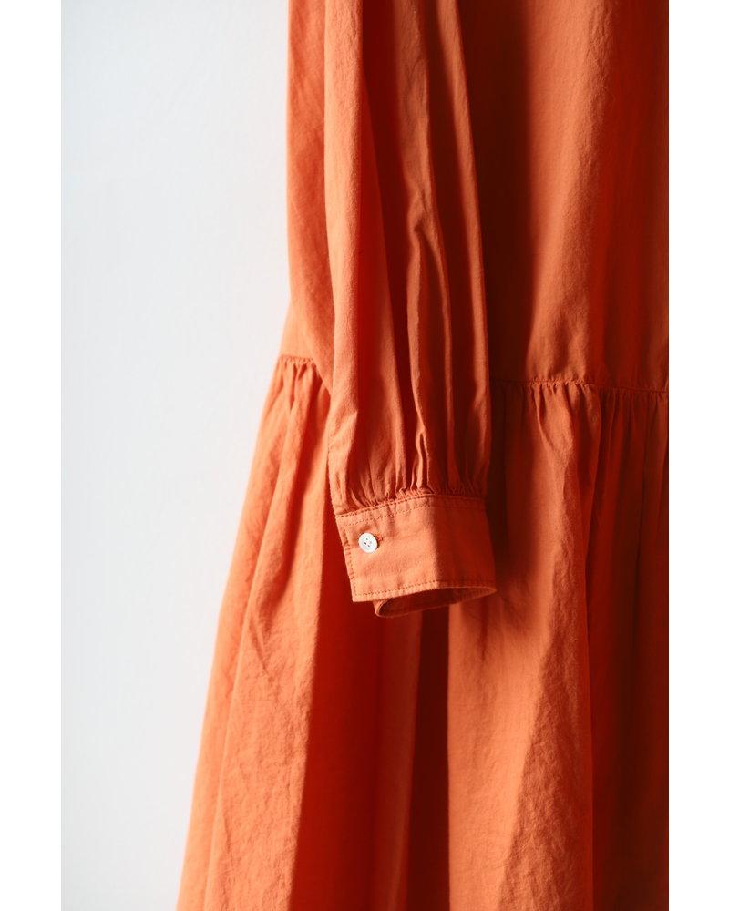 Tiered Dress- Orange