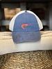 Unstructured Shrimp Hat- Blue