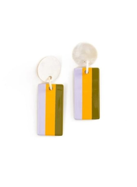 Lilac Cabana Earrings