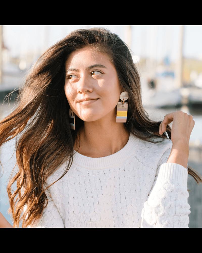 Rose Cabana Earrings