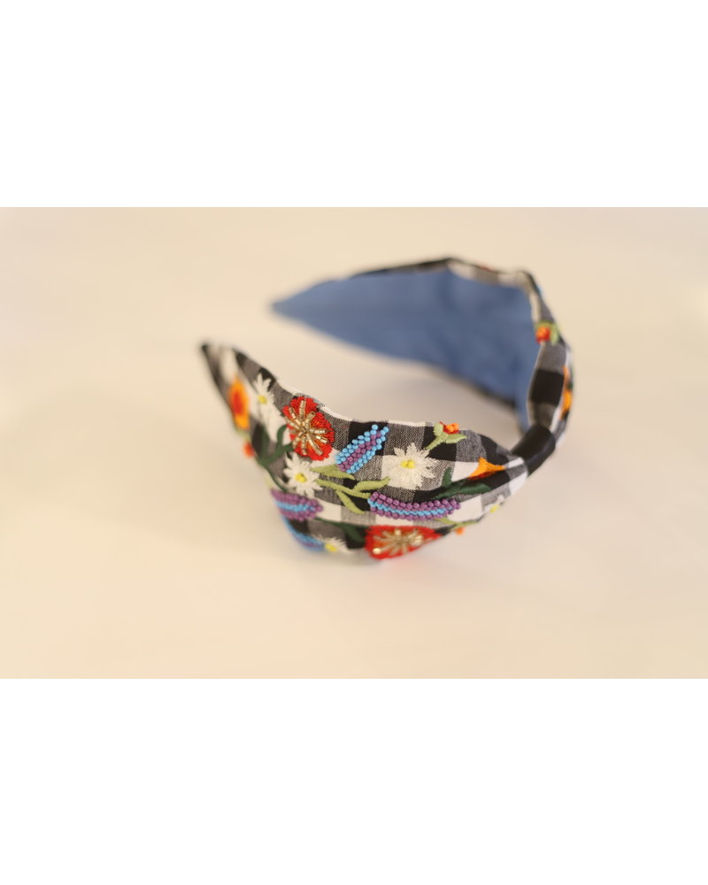 Park Gingham Headband