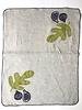 Linen tea towel fig