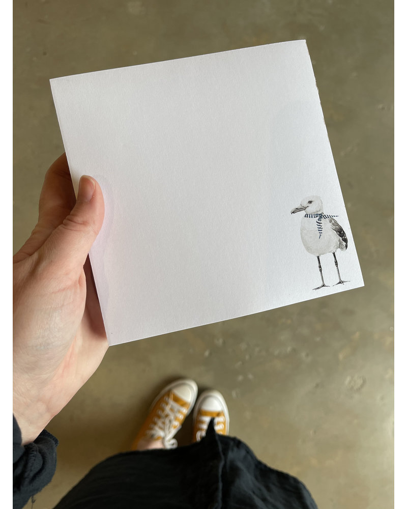 French Seagull Notepad