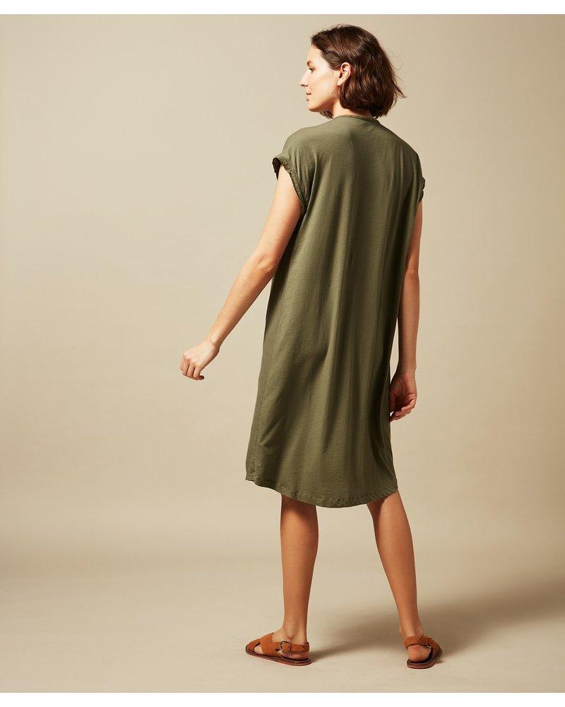 Techo Dress- Olive