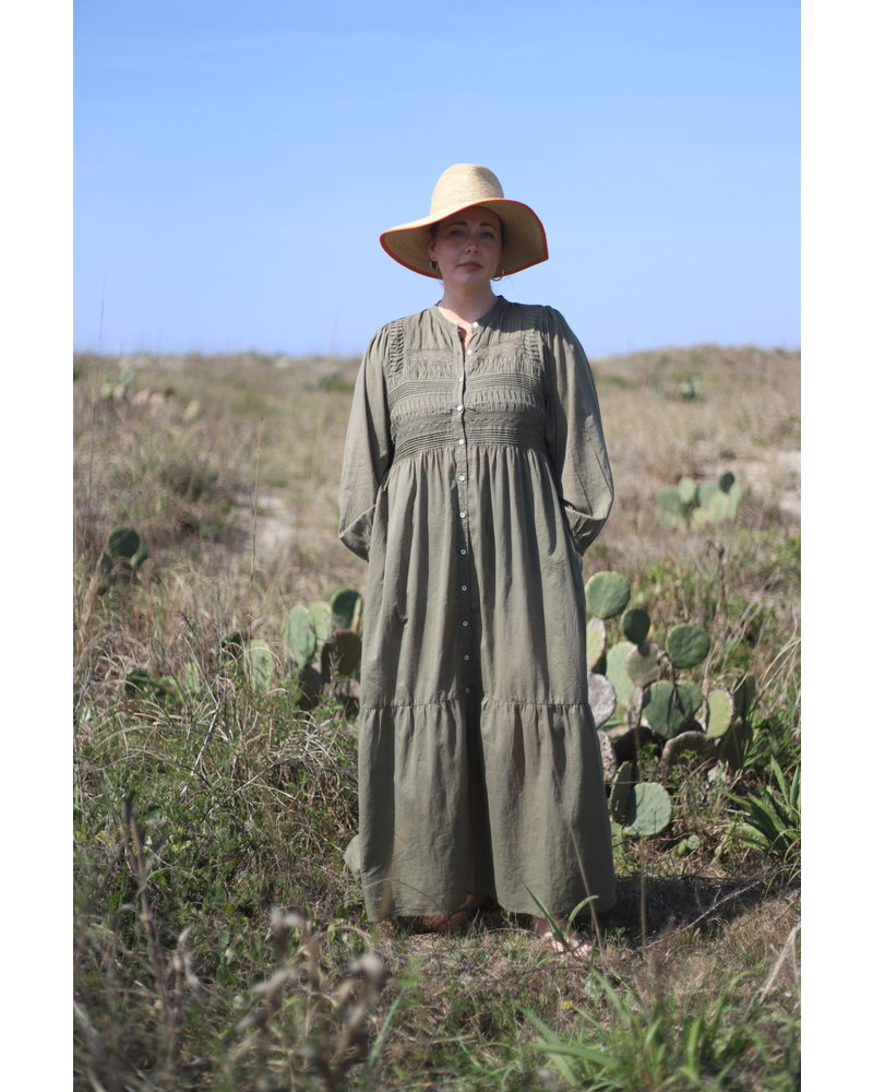 Woven Dress Olive