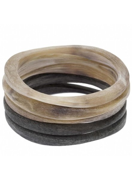 Rough Buffalo Horn Bracelet- Each