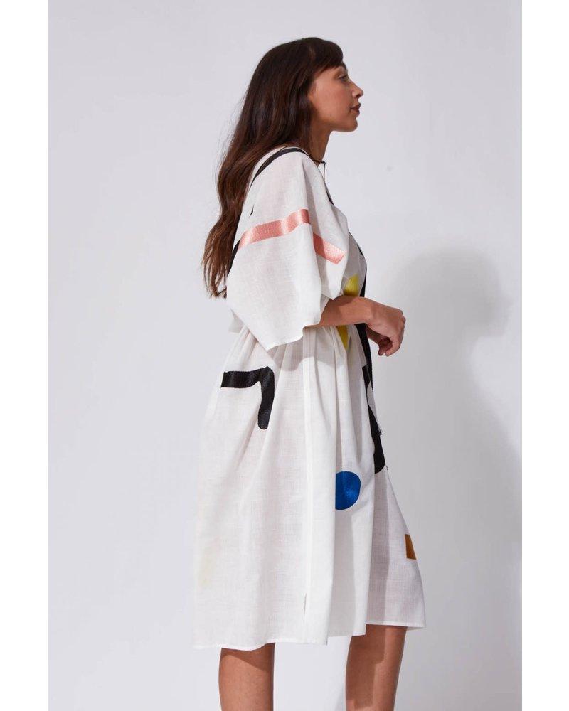 Robe Onde Blanche