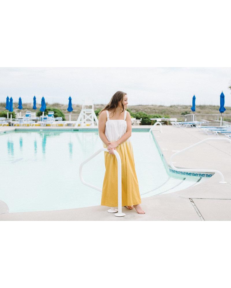 Marigold Dip Dyed Dress
