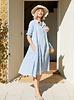 Springs Dress- Pale Blue