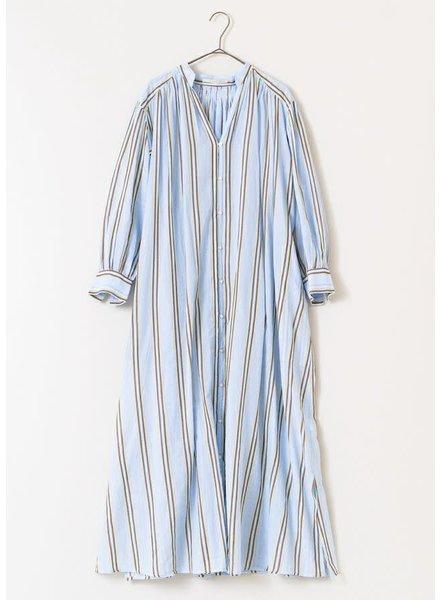Blue Stripe Gown- One Size
