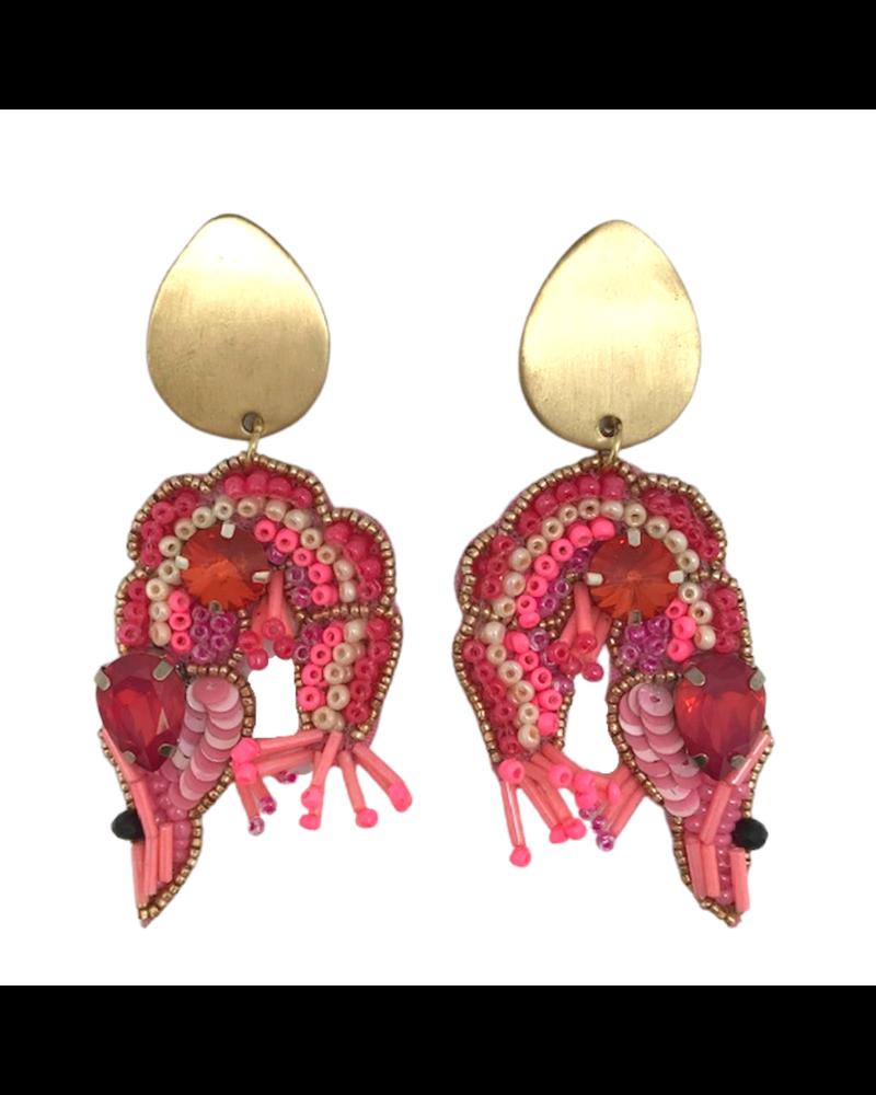 Shrimp Earrings