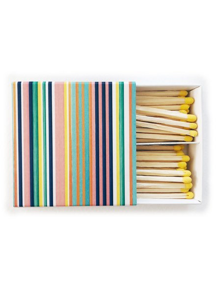 Painted Stripe Matches