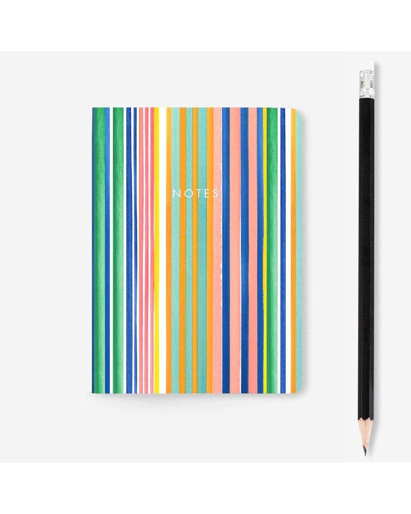 Stripe Mini Notebook