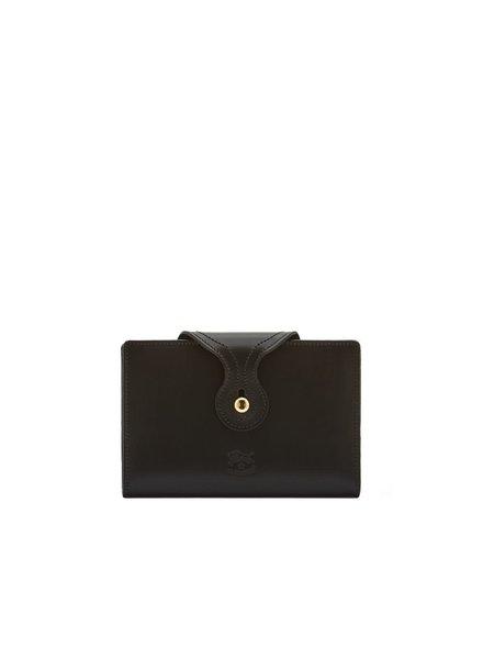 Cowhide Wallet- Black