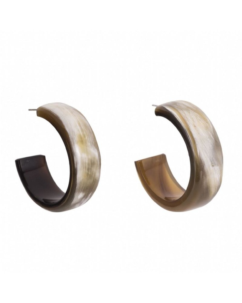 Buffalo Horn Hoop #1