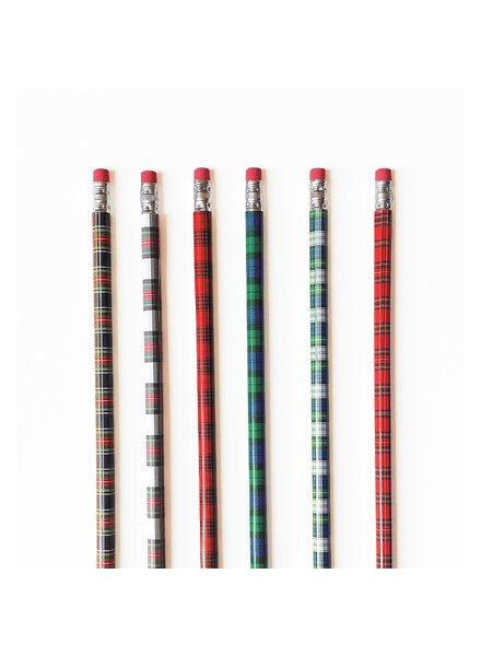 Winter Plaid Pencil Pack