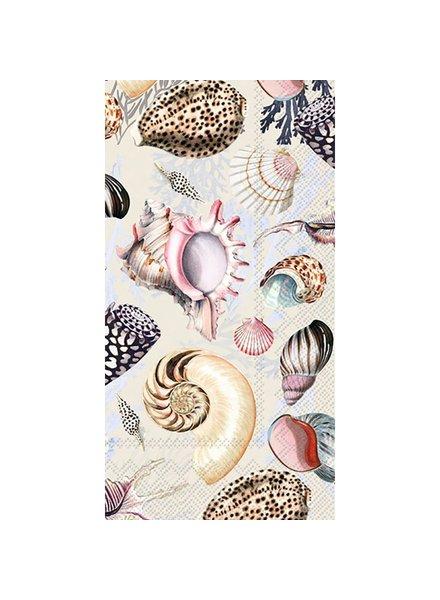 Paper Guest Towels / Shells of the Sea