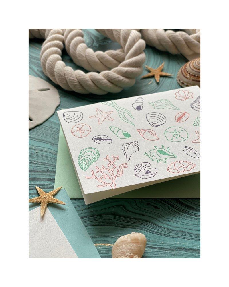 Beachcomber Note Card Set (6 Cards + Envelopes)