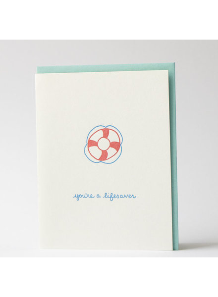 You're a Lifesaver Greeting Card