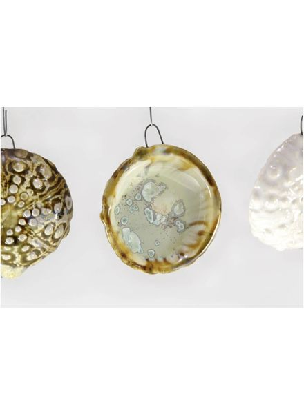 Sea Urchin Ornament - Mint & Tortoise