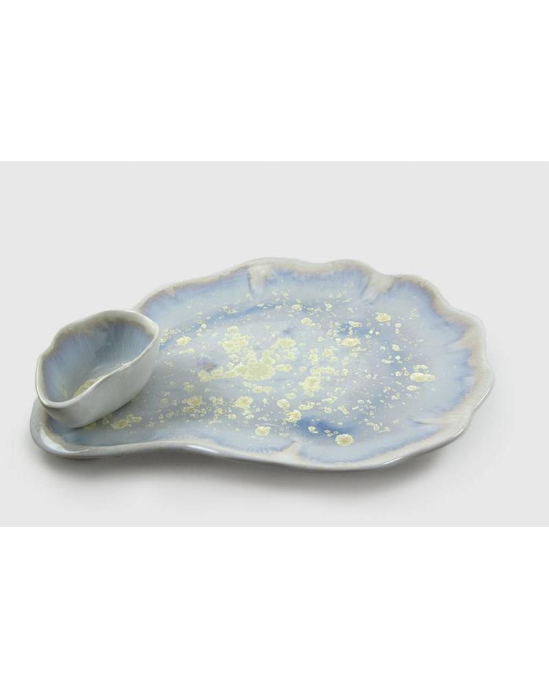 Soup/Footed Sauce Bowl: Pearl