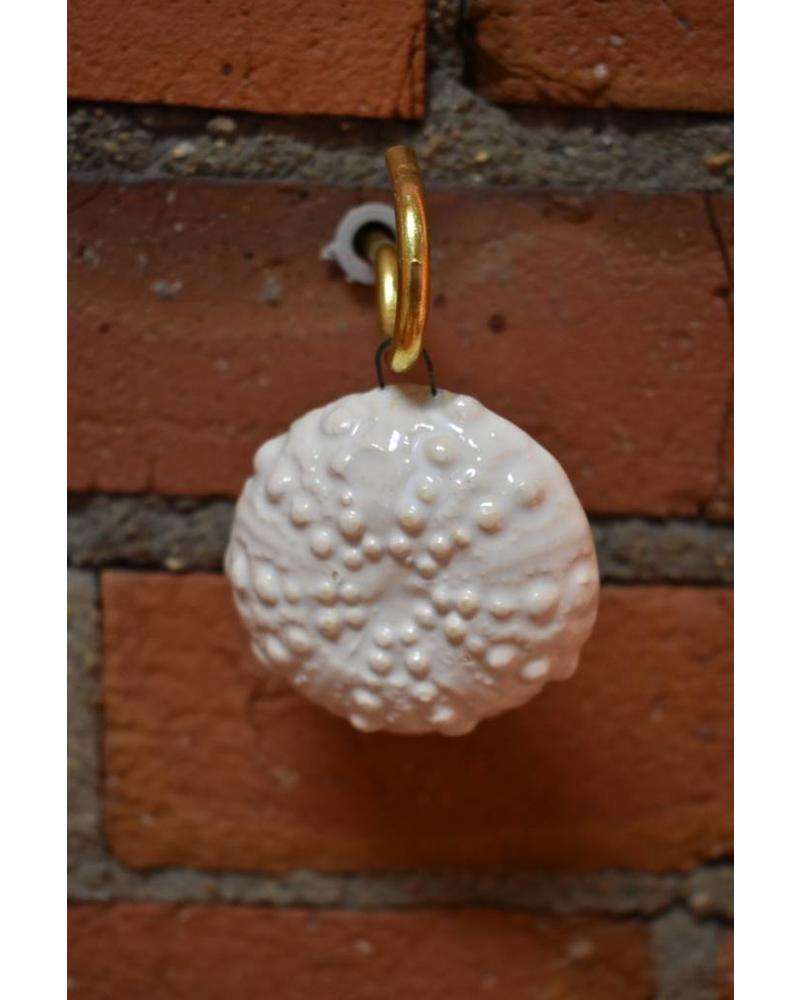 Sea Urchin Ornament - Pearl