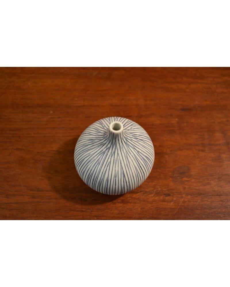 Congo Tiny Small Vase (Blue)