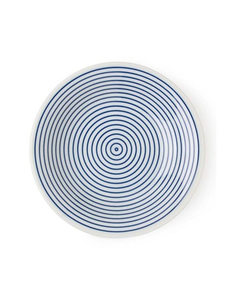 """WAMON 6.5"""" ROUND PLATE - BLUE"""