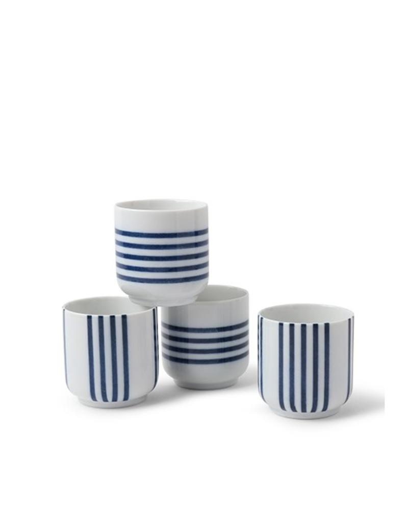 BLUE STRIPES 8 OZ. TEACUP (EACH)