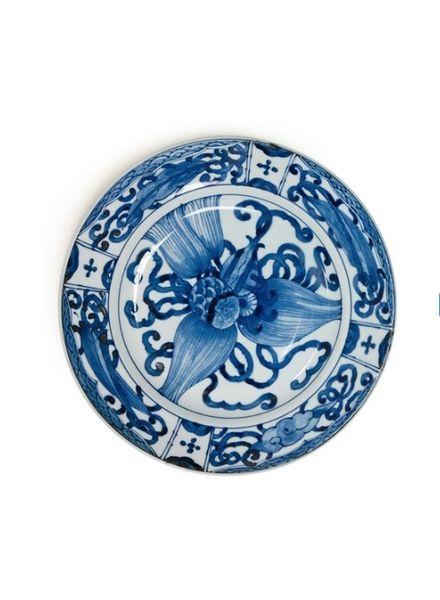 "BLUE & WHITE 9.25"" PLATE - TAKARA ZUKUSHI"