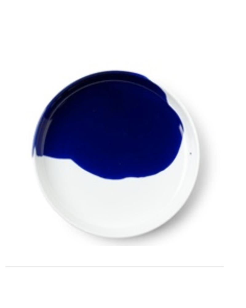 "BLUE SPLASH 6.25"" PLATE"